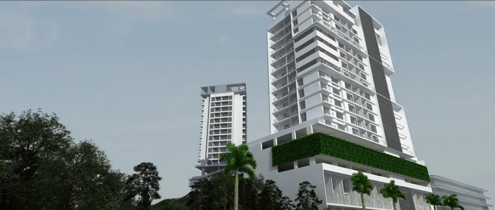 Ambar Roca, Proyecto sobre planos Apartamentos de una, dos y tres alcobas