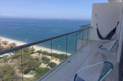 Comodo Apto. 2 habitaciones 2 baños en Playa Salguero Edificio Ambar Oceanic