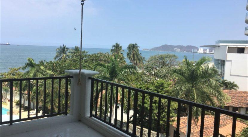 apartamento frente al mar en Bello Horizonte 01