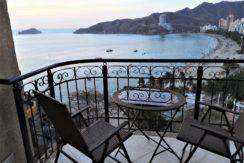 Apartamento frente al mar 2 alcobas Vista Panoramica