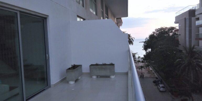Apartamento de 2 habitaciones en Edificio Oceania Pozos Colorados