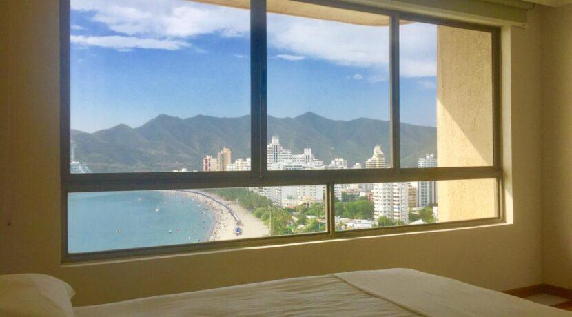 07 Apartamento de una habitacion 2 baños con vsita al mar