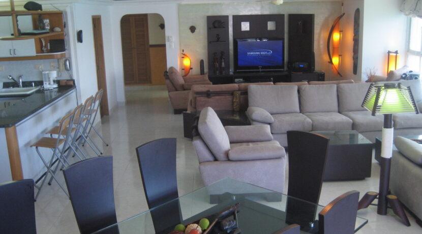 Apartamento 2 habitaciones en arriendo en Rodadero Sur