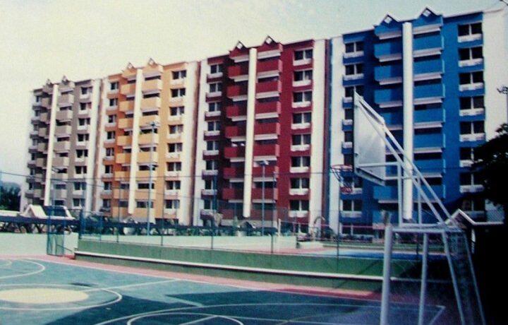 Vista de los bloques 1,2,3 y 4