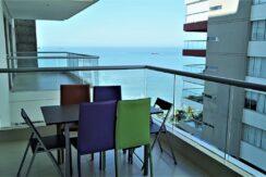 Apartamento en Arriendo en Edificio Oceania | 2 habitaciones 3 baños | Playa interna y salida directa al mar